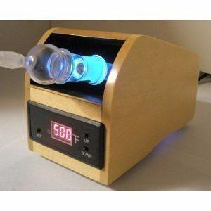 vaporizador de ervas vp-100 aromaterapia - cor preto