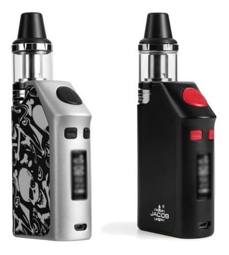 vaporizador electronico vaper jacob egq 120w + 120ml + envío