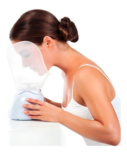 vaporizador facial spa limpieza profunda suaviza rejuvenece