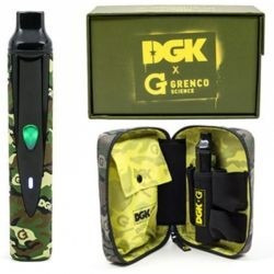 vaporizador g herbal dgk grenco original - nuevo