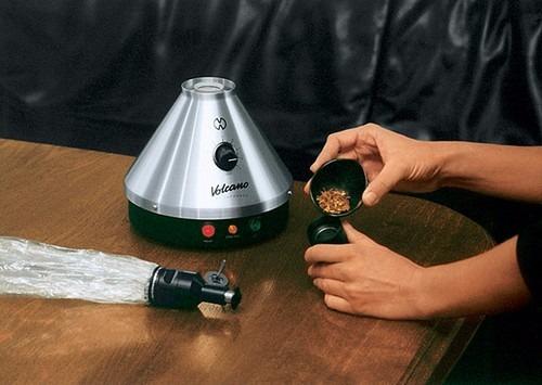 vaporizador herbal aromaterapia volcano