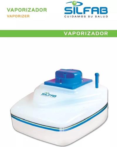 vaporizador humidificador silfab vapor caliente nuevo+ envio
