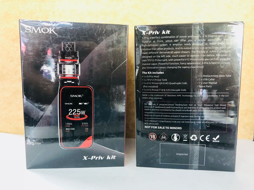 vaporizador smok kit de x-priv nuevo
