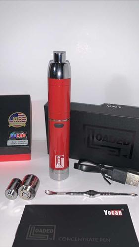 vaporizador yocan loaded ( cera y concentrados) rojo