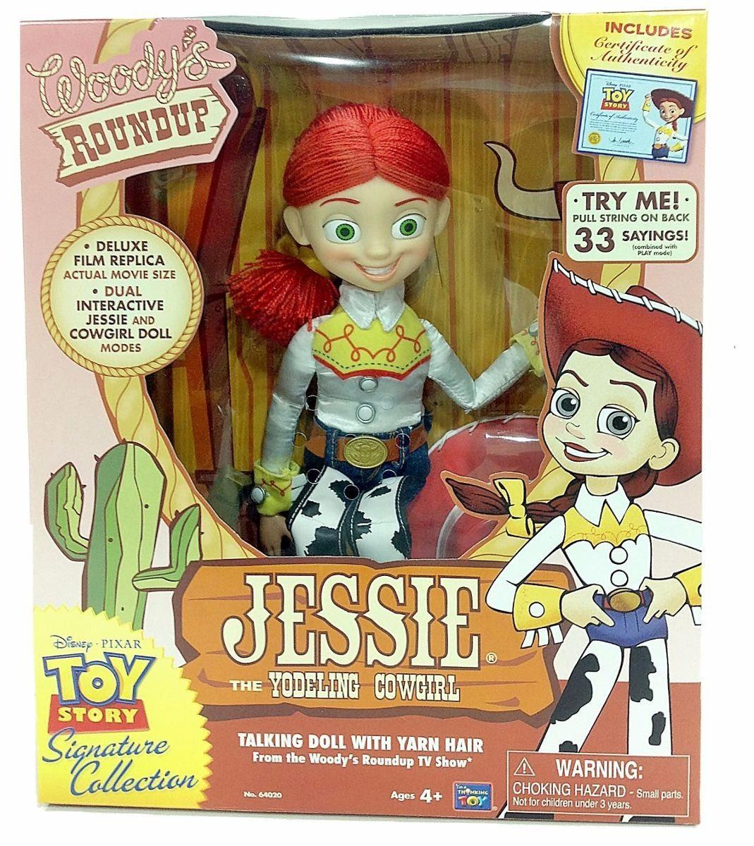 badc82f333345 Vaquerita Jessie Coleccion Toy Story Disney Con Certificado ...
