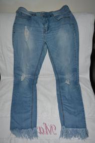 68bd2419b Pantalones Vaqueros Dama Rotos - Ropa