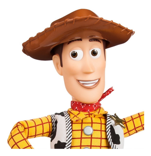 vaquero woody toy story original disney con sonidos