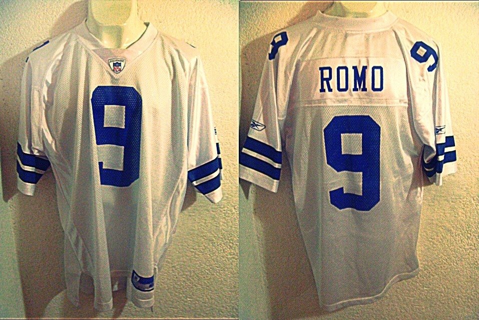 competitive price 9f40d 99ba7 Vaqueros De Dallas Jersey Tony Romo Talla Xl Playera Reebok - $ 350.00