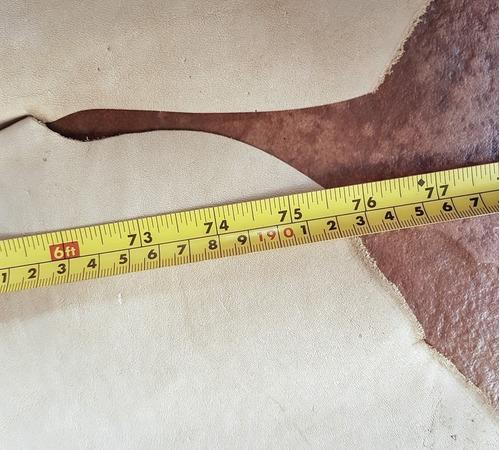 vaqueta pele natural inteira jbs - marcas no grupon central