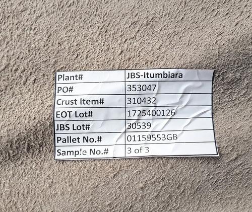 vaqueta pele natural inteira jbs - primeira tipo exportação