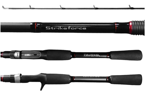 vara daiwa para carretilha strikeforce 183m 168m 8-17 12-25