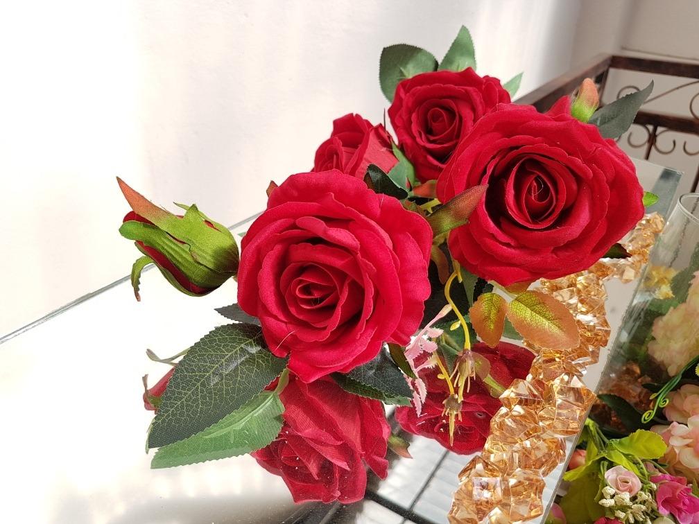 cargando zoom - Fotos De Rosas Rojas Grandes