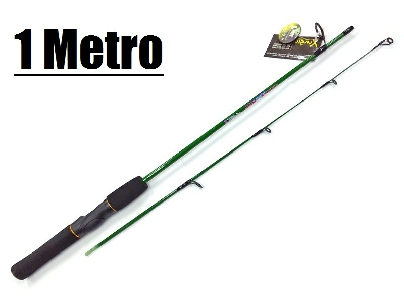 b6b3c9010 Vara De Pesca 1 Metro Kit Com 2 Varas P  Molinete - 2 Seções - R  47 ...