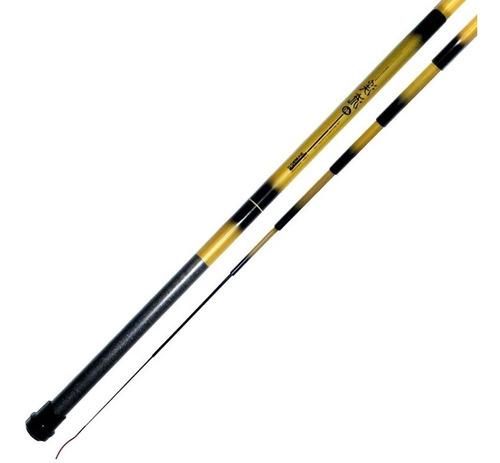 vara de pesca bamboo telescópica 4,00m marine sports