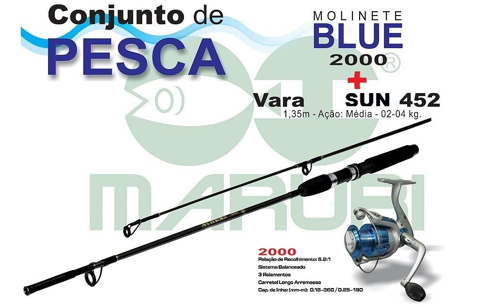 Vara De Pesca - Sun 452 - Maruri 1 64e54762805