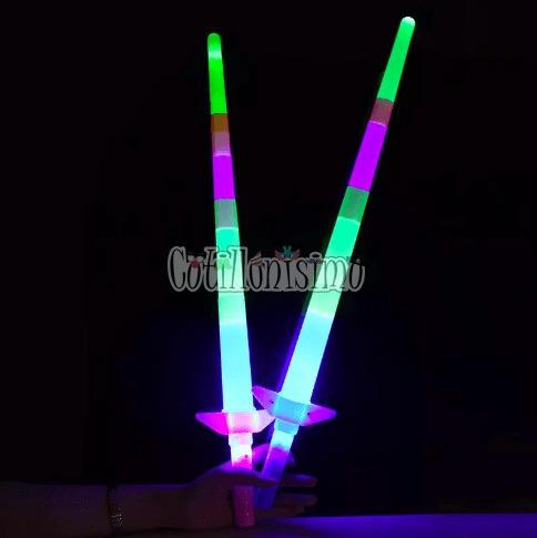 vara espada telescopica (led) - cotillonisimo