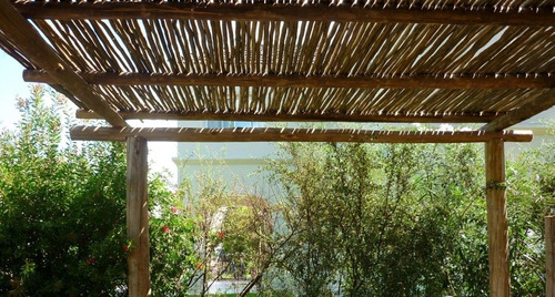 vara  eucalipto natural ,pergola, palito ,diam 4 a 6 cm x ml