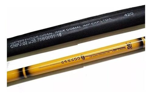 vara telescópica maruri bamboo 2,10m c/ capa protetora