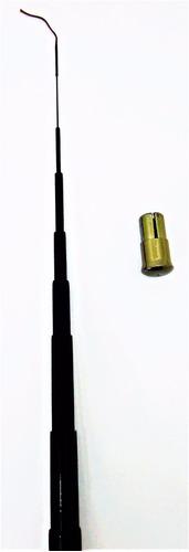 vara telescópica ultra leve 100% fibra carbono 4,5m top linh