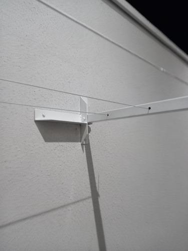 varal articulado 280,00 com cabo de aço