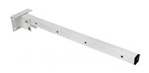 varal artuculado dobravel em metal 50 cm parede ou muro