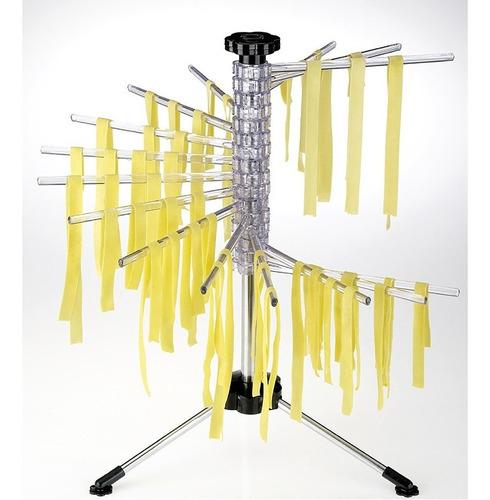 varal de massa com 16 hastes secador macarrão lasanha 50 cm