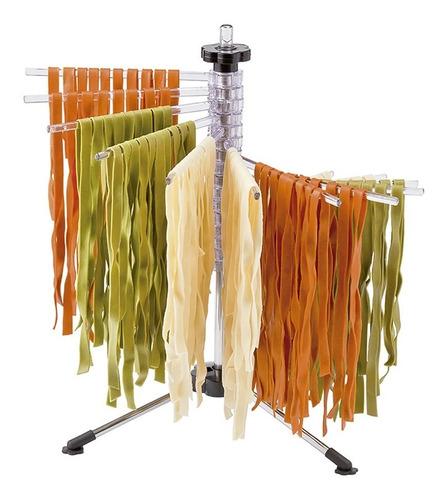 varal de massa fresca 50 cm hauskraft com 16 hastes secador macarrão lasanha talharim espaguete fetucine cozinha italia