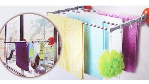 varal dobravel inox articulado sacada apartamento banheiro