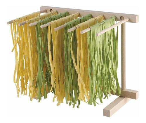 varal madeira p/ secar macarrão pasta 36x30 cm import italia