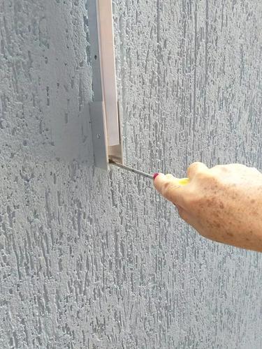 varal roupa retratil dobravel parede apartamento aluminio
