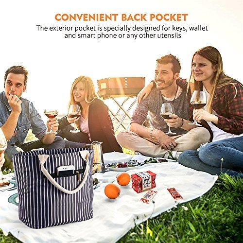 varano bolsa de almuerzo con lonchera aislada para mujeres y