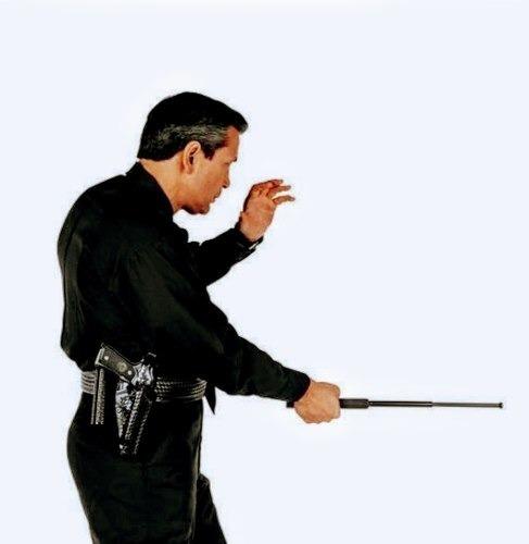 varas retractil para defensa personal-police using