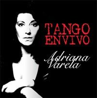 varela adriana tango en vivo cd nuevo