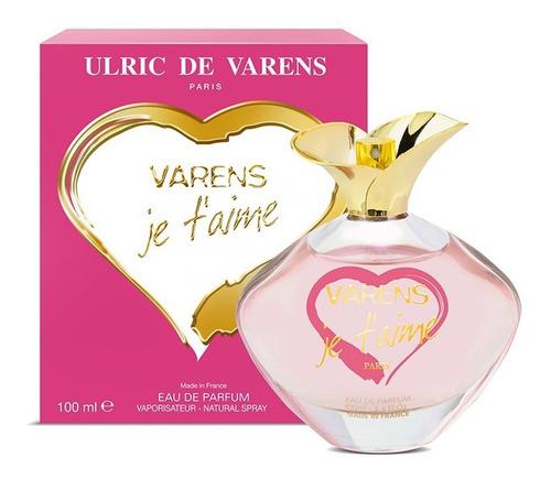 varens je t'aime eau de parfum 100ml feminino   original