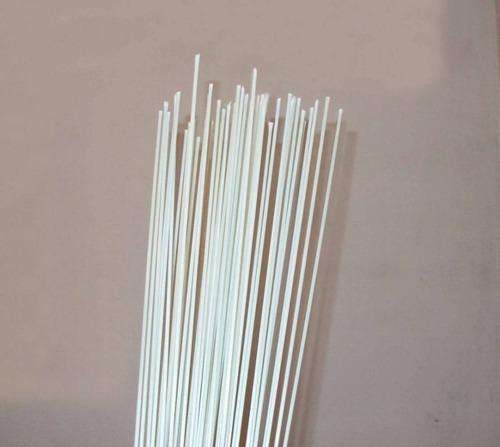 vareta de fibra - várias espessuras - 1kg c/ 2 metros