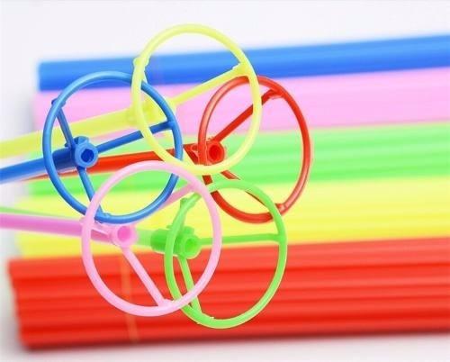 vareta e suporte para balão / bexiga 50cm