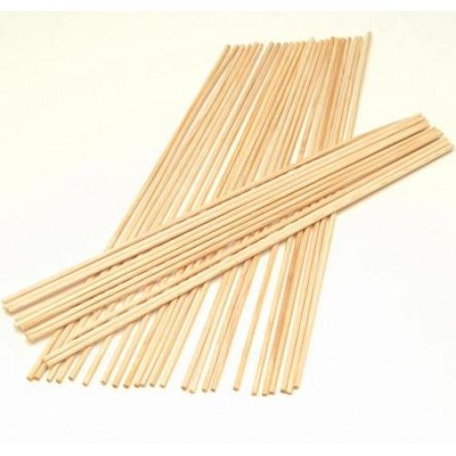 vareta p/ algodão doce madeira / 700 unidades