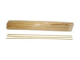 vareta para algodão doce bambu 40 cm / 1.000 unidades