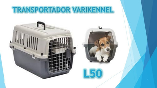 vari kennel l50 transportador perro gato