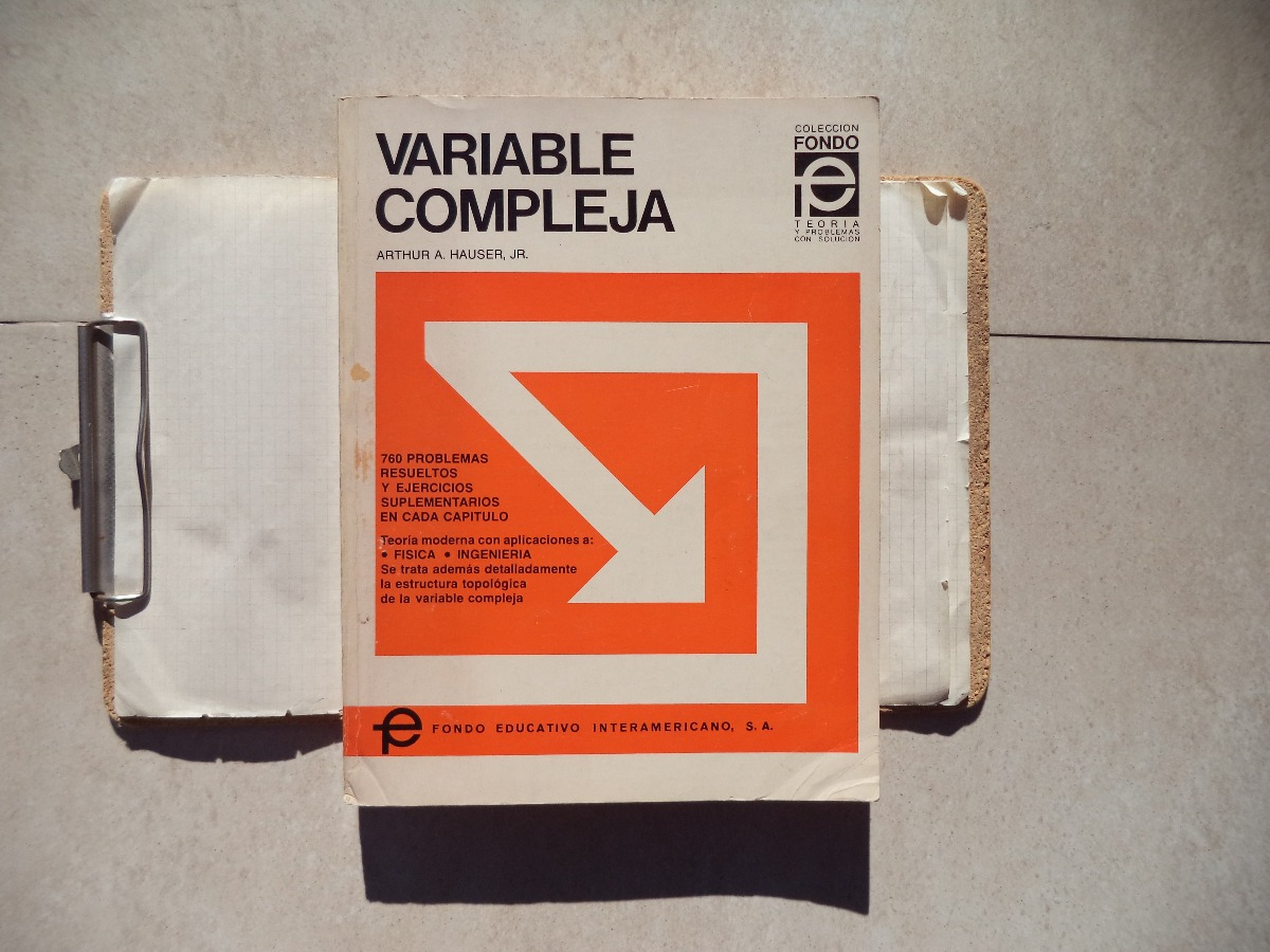 libro variable compleja arthur a.hauser