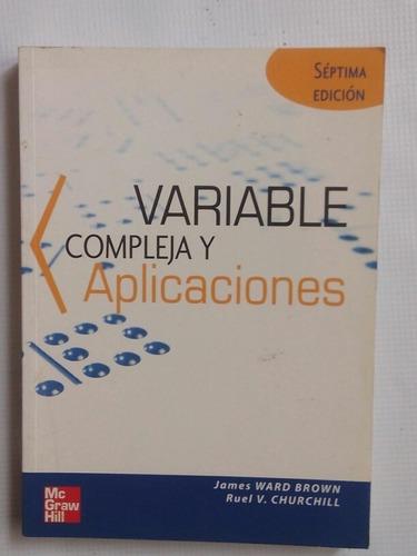 variable compleja con aplicaciones churchill