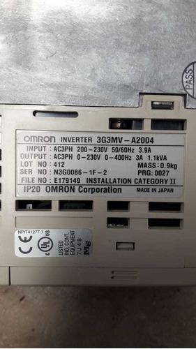 variador .4 kw 3g3mv-a2004