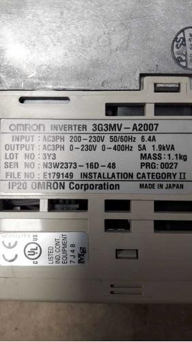 variador .75 kw 3g3mv-a2007