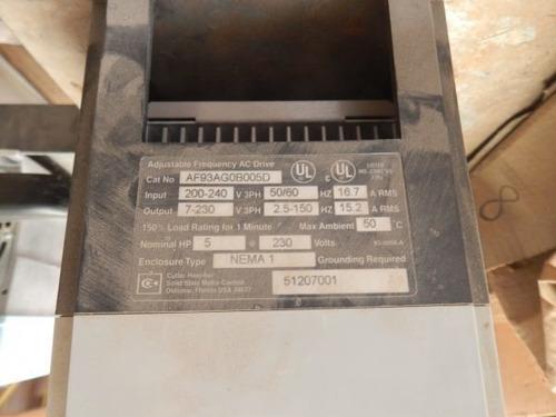 variador de frecuencia 5 hp af93ag0b005d
