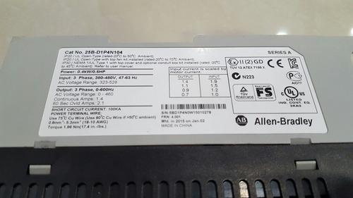 variador de frecuencia de 1/2 hp 440v powerflex 525