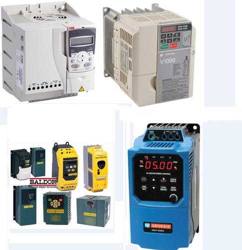variador de frecuencia entrada bifásica220v salida trifasica