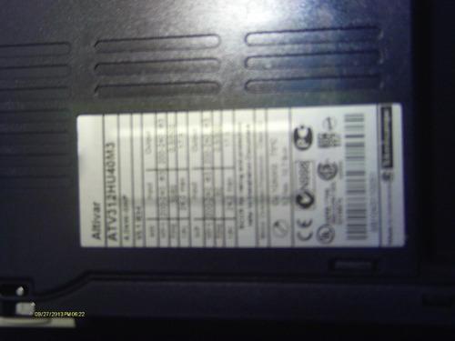 variador de frecuencia telemecanique de 4 kw-5 hp 200-240 v