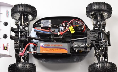 variador esc speed hsp hobbywing wp 100a brushless rc 1/8
