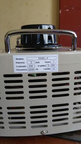 variadores de voltaje - variac