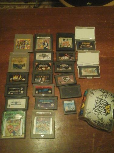 varias consolas retro gba,gbc,mes,snes game cube y juegos